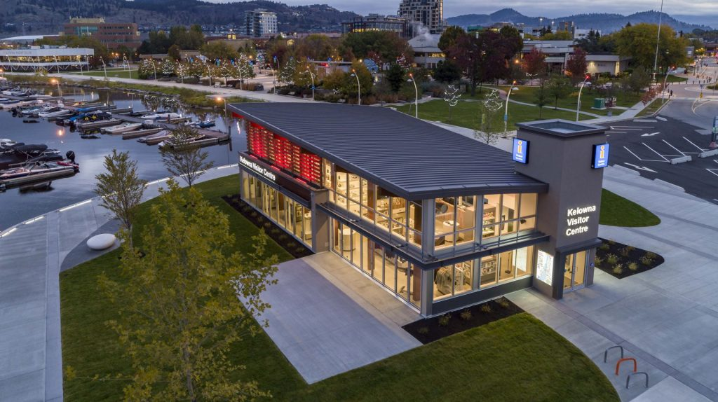 Read more on Kelowna Visitor Centre – Grand Opening