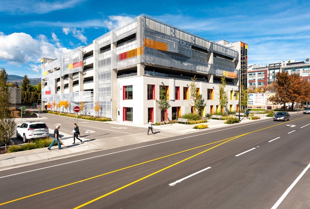 New Downtown Kelowna Parkade Ready for Use