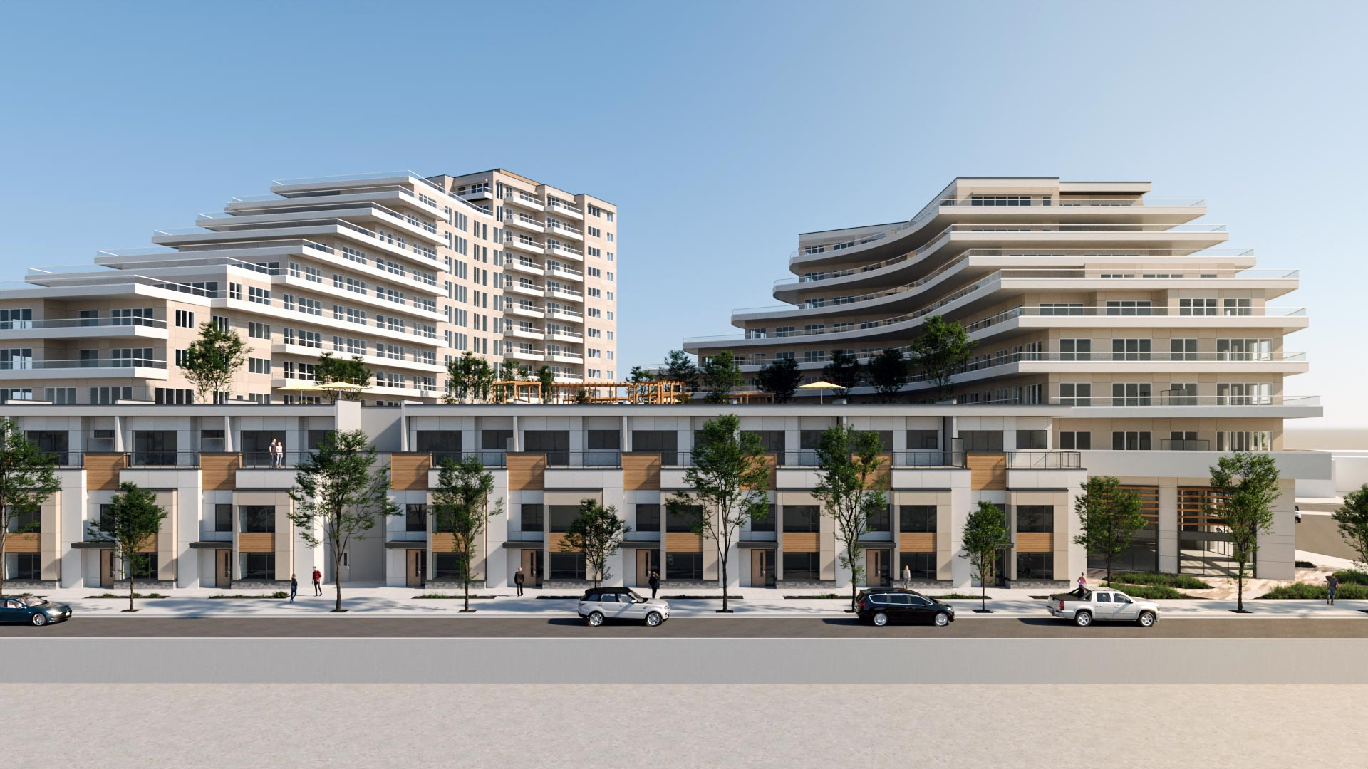Stober Group Applauded for Unique, World Class Design of Lakeshore Road Development